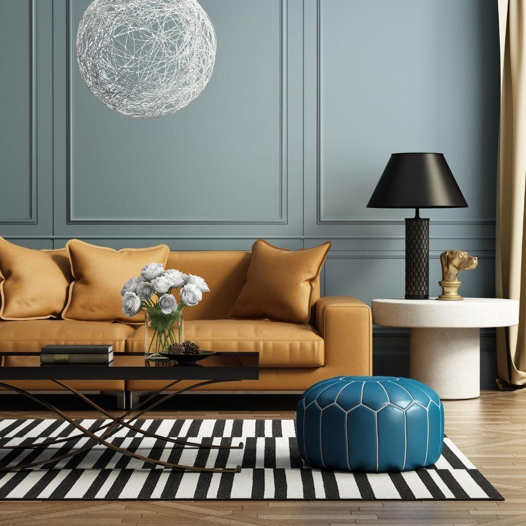 elegant contemporary living room