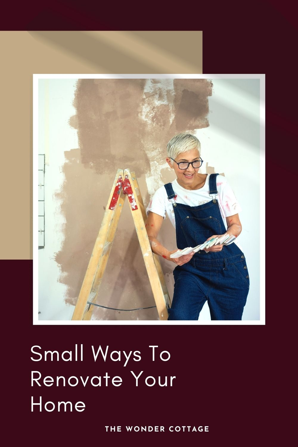 Small ways to renovate your home