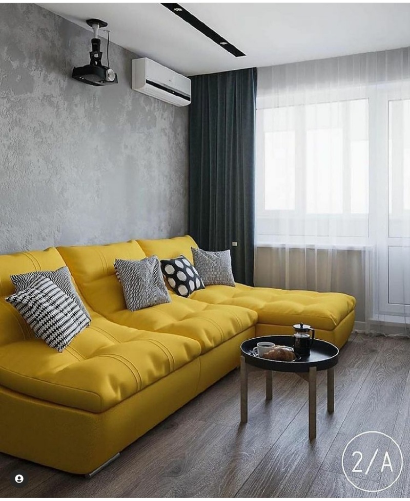 Yellow decor