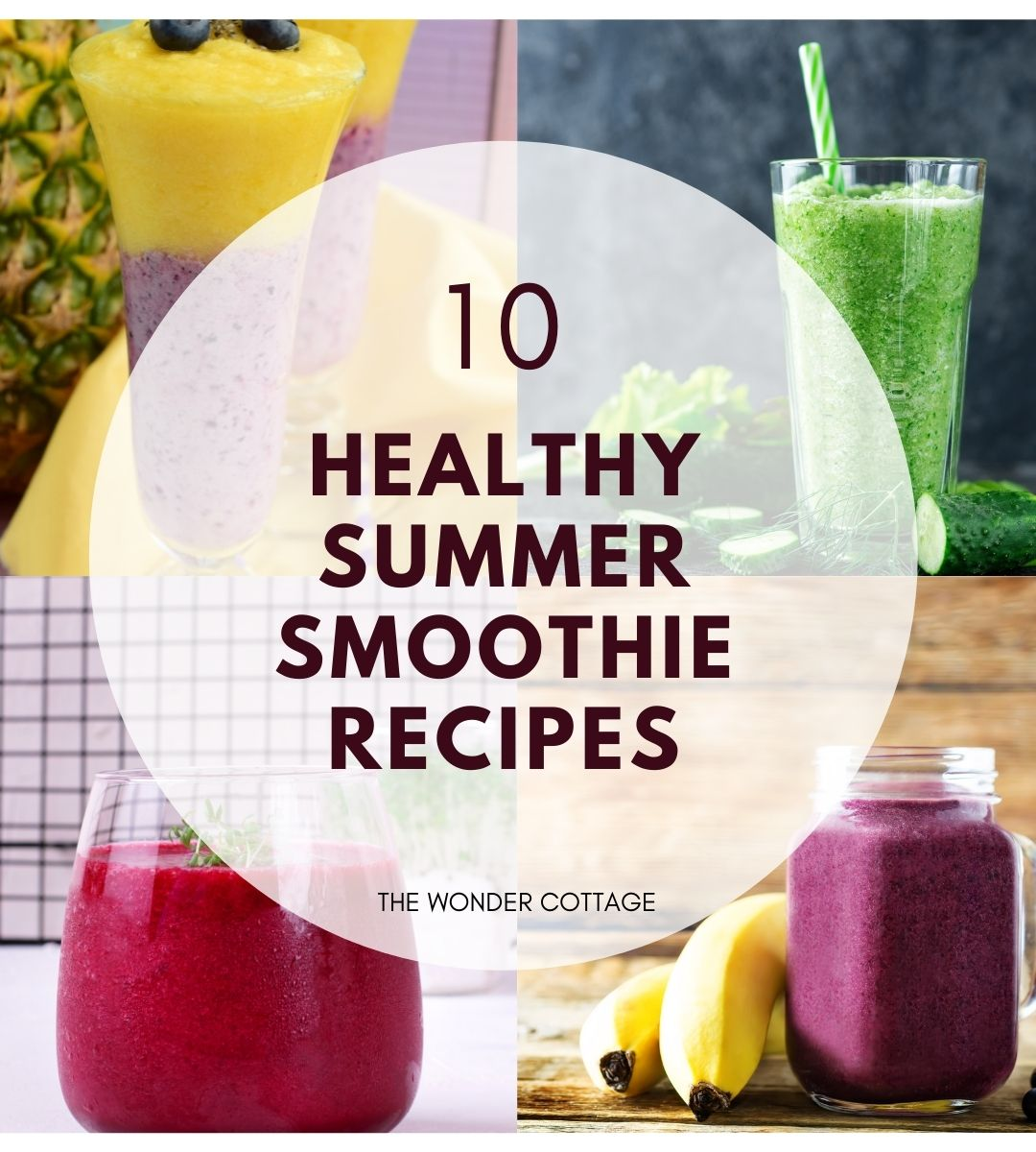 10 healthy summer smoothies recipes