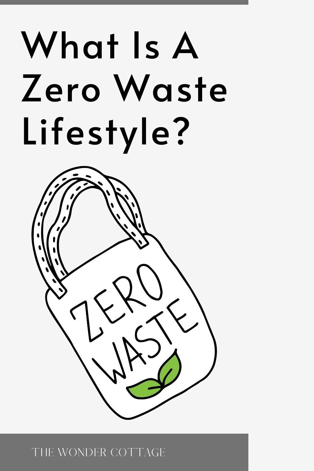 what is a zero waste lifestyle