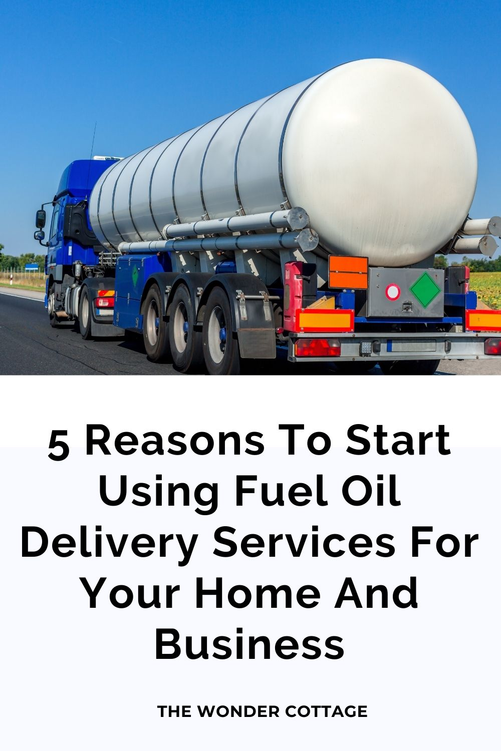 5 Reasons To Start Using Fuel Oil Delivery Services For Your Home And Business