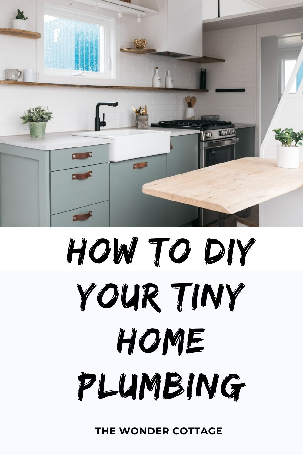 How to diy your tiny home plumbing