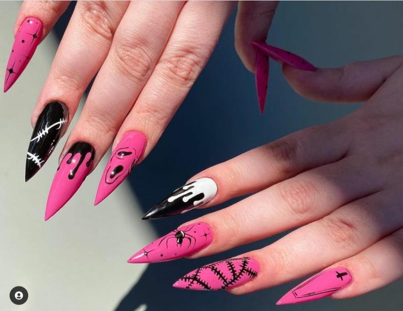 Halloween nails 2021