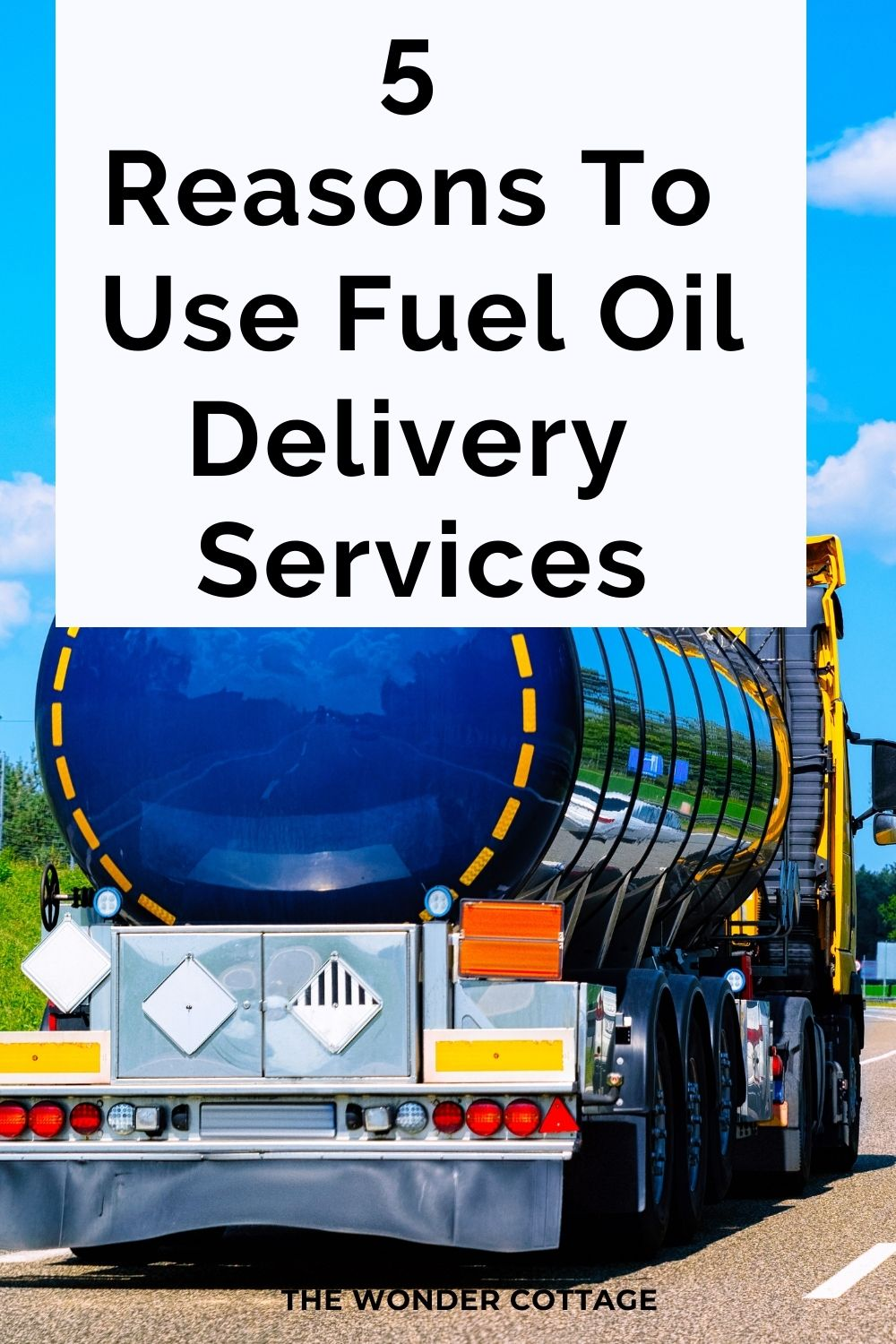 5 reasons to use fuel oil delivery services