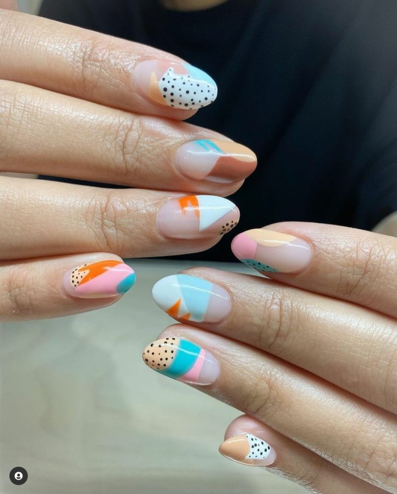 Gorgeous pastel nails