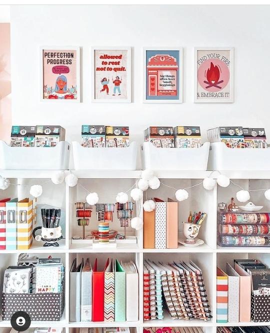 DIY craft room