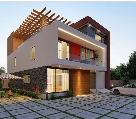 2 storey modern house design