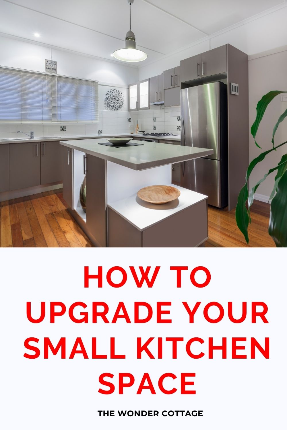how to upgrade your small kitchen