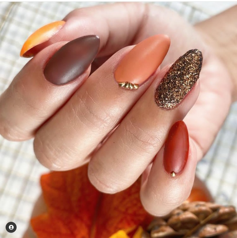 thanksgiving nails 2021