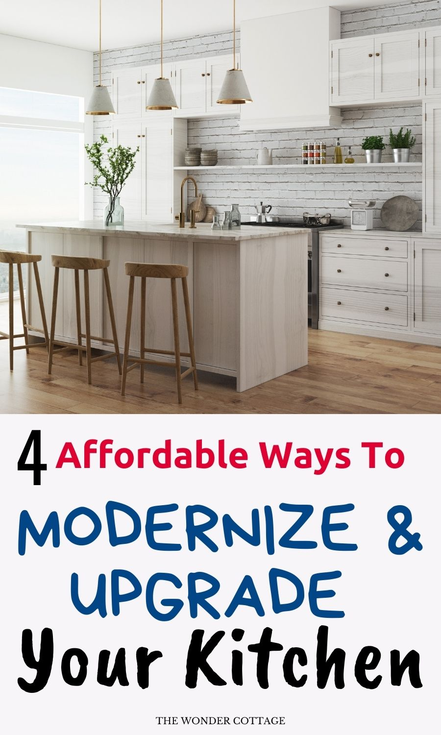 4 Affordable Ways To Modernize And Upgrade Your Kitchen