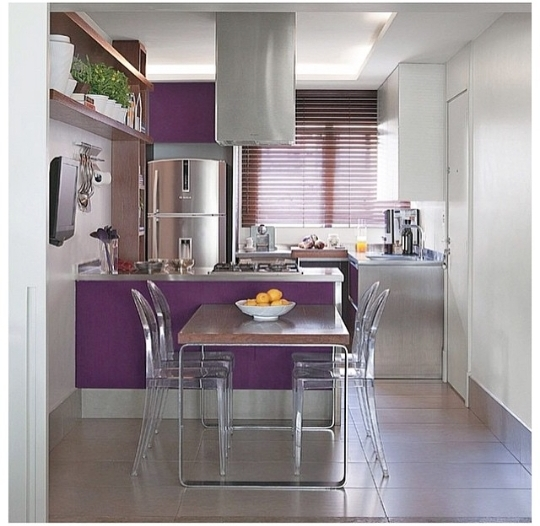 purple kitchen decor ideas