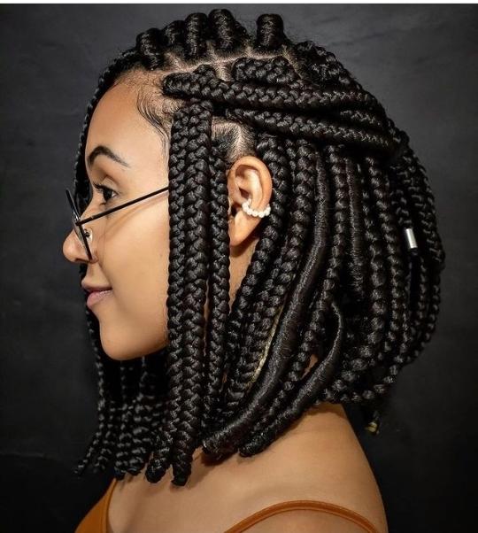 bob box braid styles