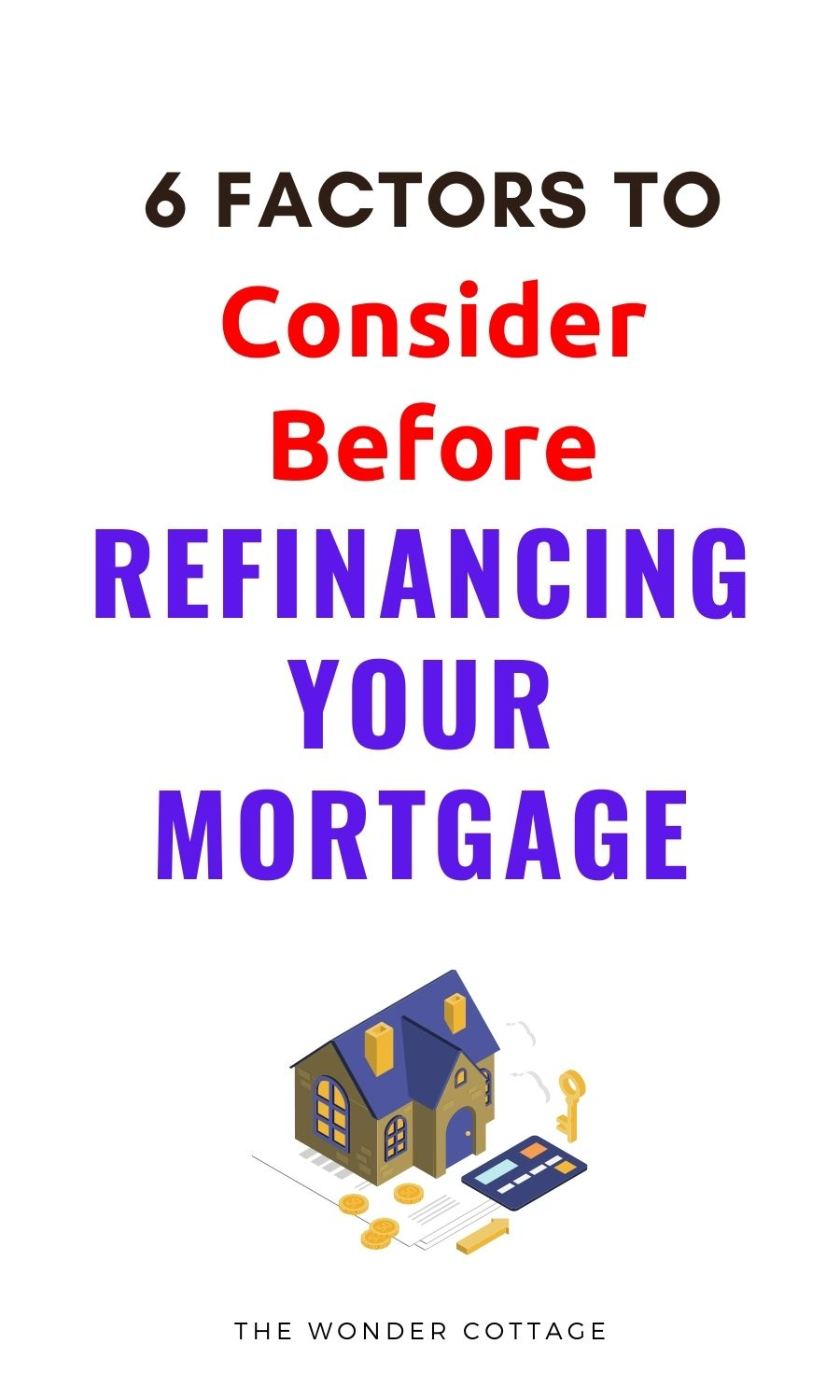 6 factors to consider before refinancing your mortgage