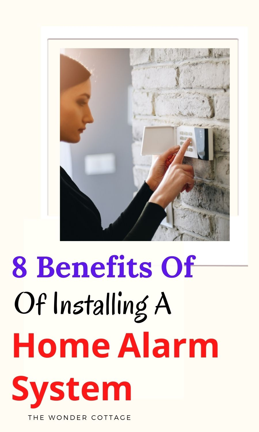 8 benefits of installing a home alarm system